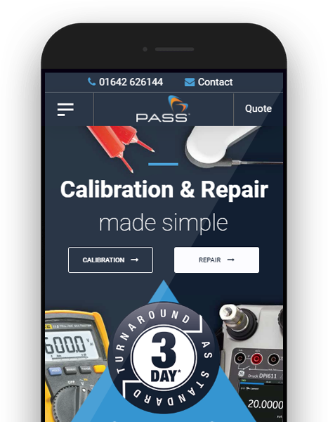 Calibration Website